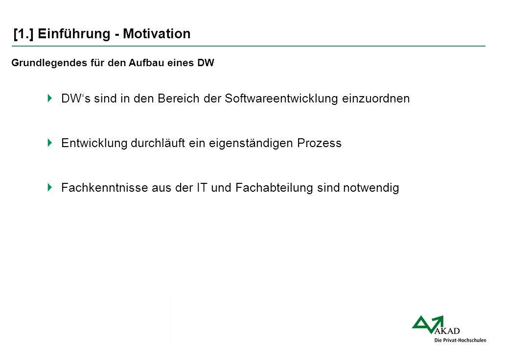 [1.] Einführung - Motivation